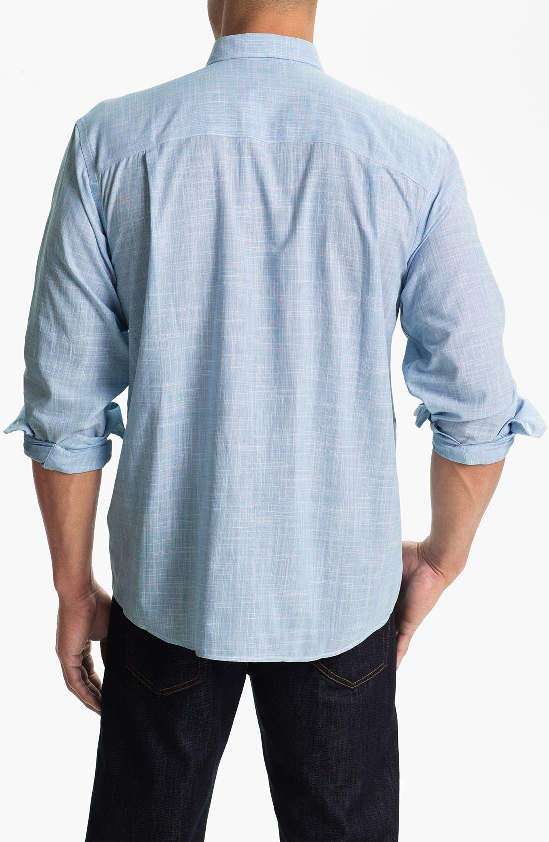 Alternate Image 2  - Cutter & Buck 'Blue Ridge Solid' Regular Fit Sport Shirt (Online Only)