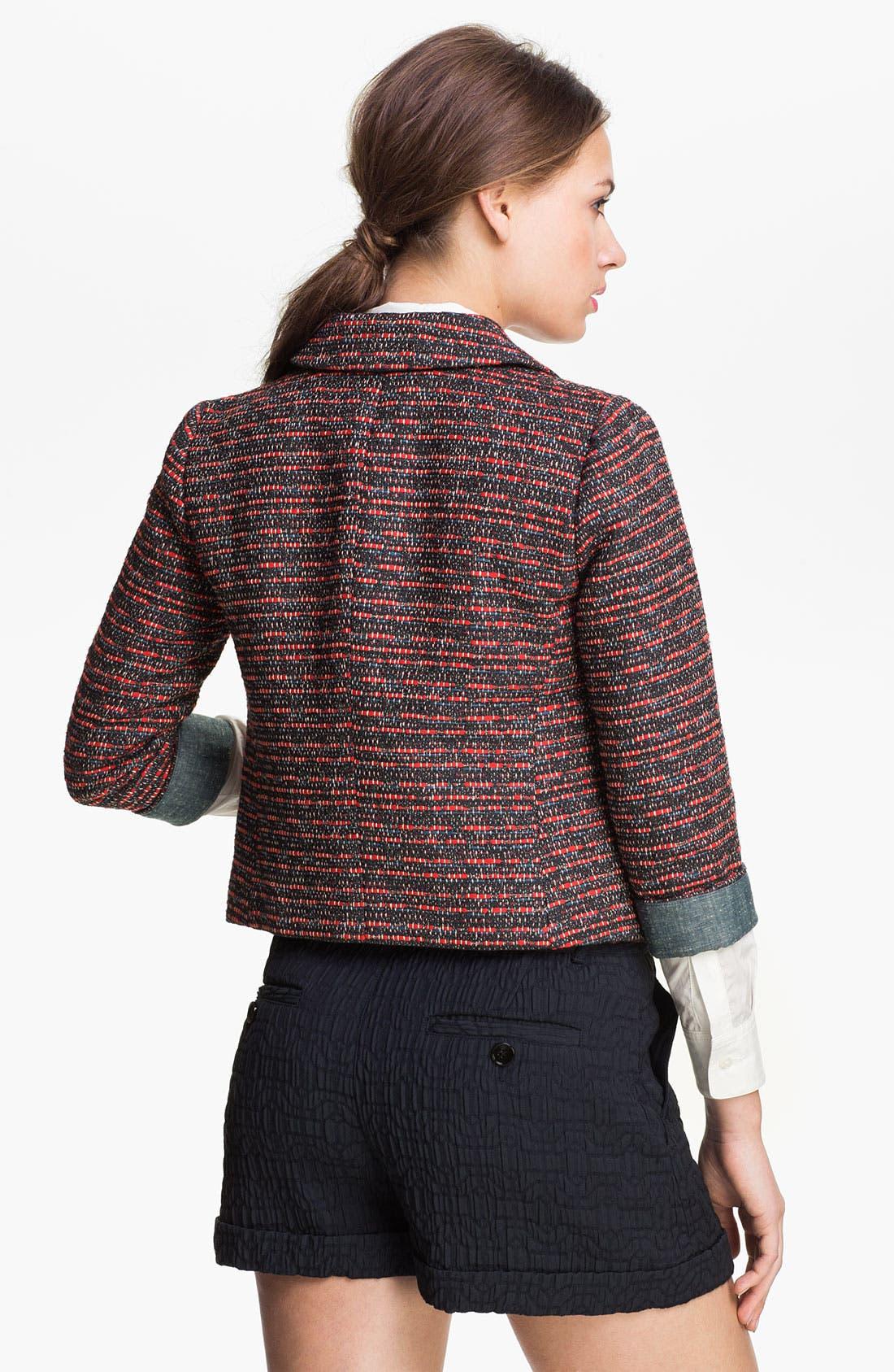 Alternate Image 2  - MARC BY MARC JACOBS 'Miranda' Tweed Jacket