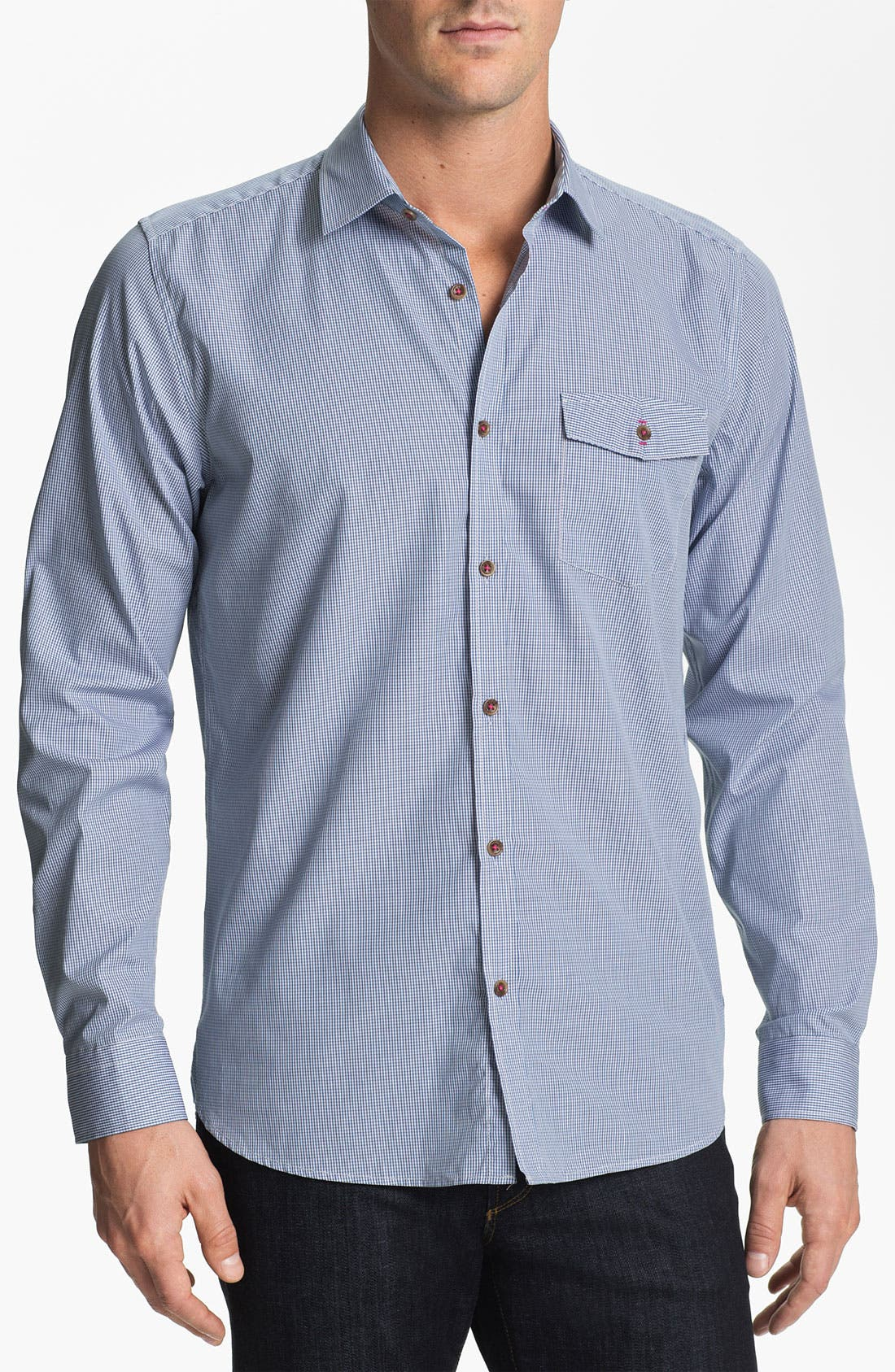 Alternate Image 1 Selected - Ted Baker London 'Blachie' Sport Shirt