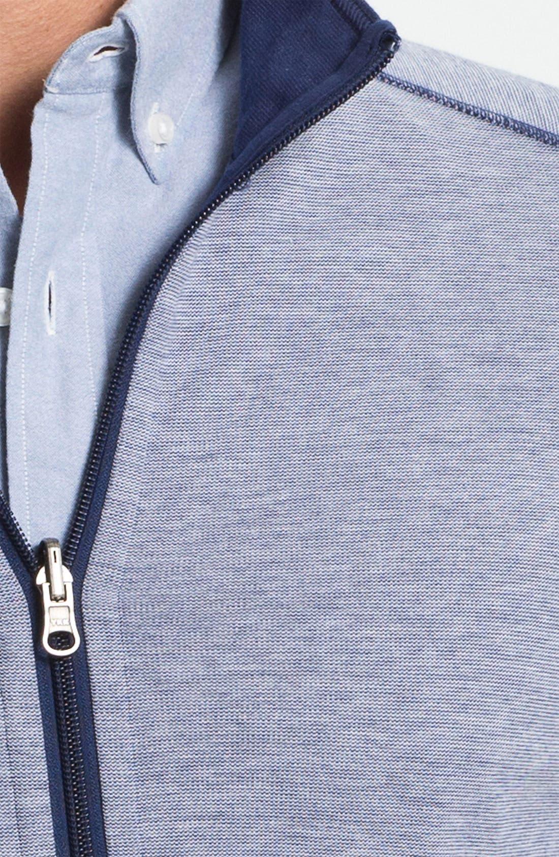 Alternate Image 3  - BOSS Black 'Cannobio' Full Zip Knit Jacket