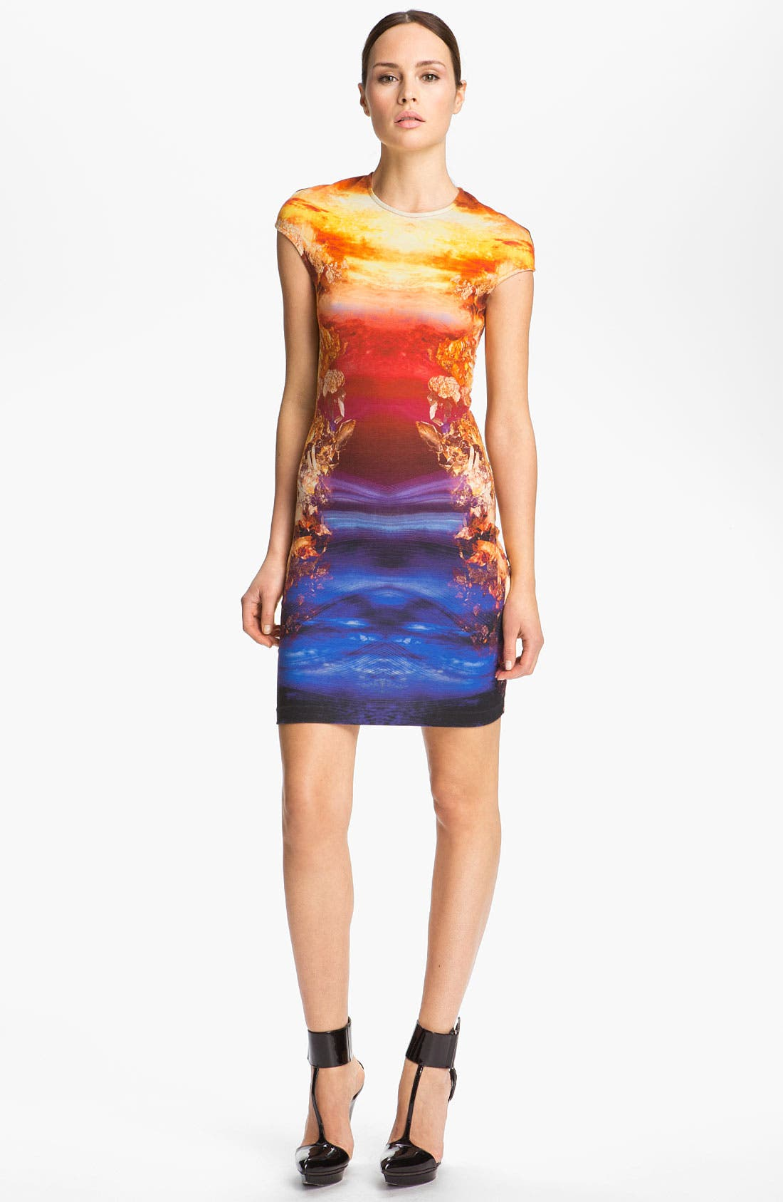 Main Image - McQ by Alexander McQueen Crystal Print Dress