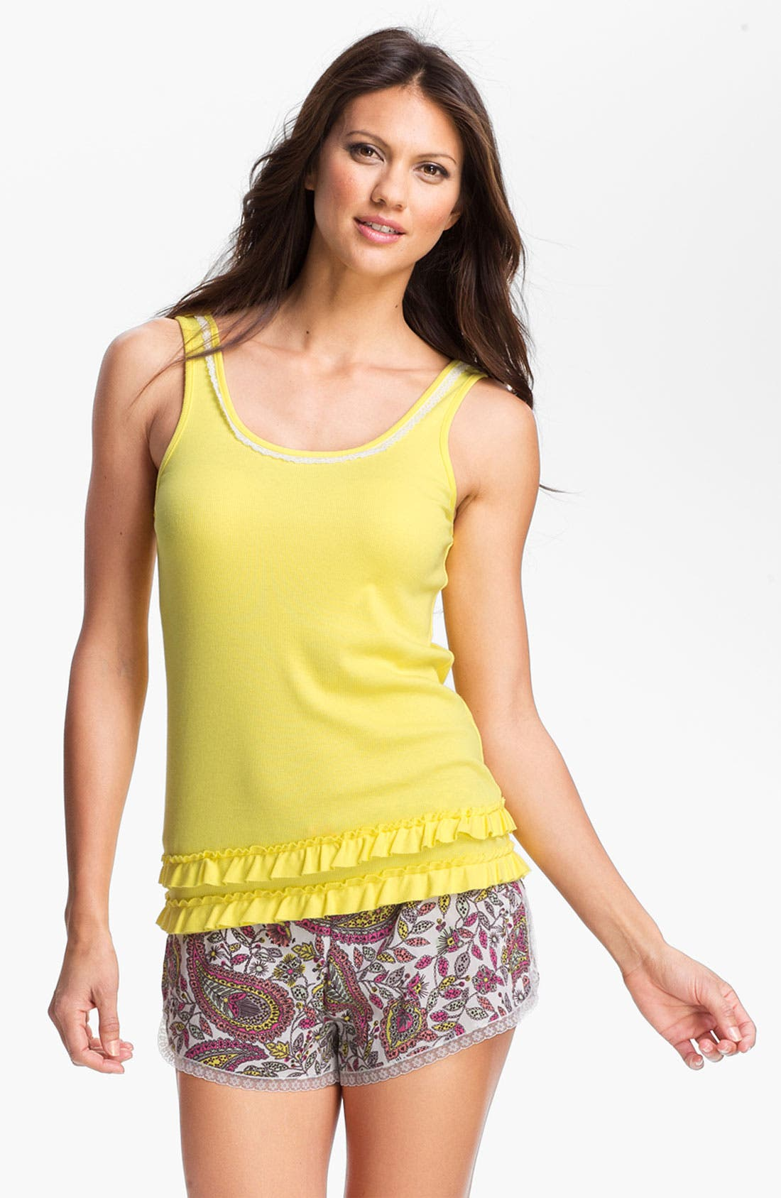 Alternate Image 1 Selected - kensie 'Sugar Rush' Ruffle Tank