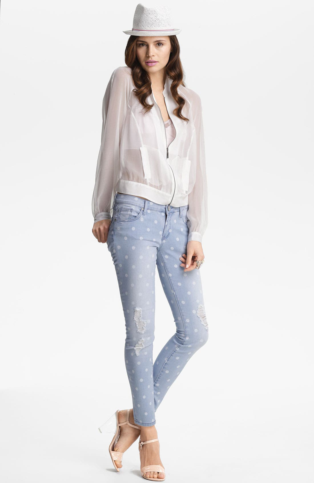 Alternate Image 1 Selected - edyson 'The Sloan' Skinny Jeans