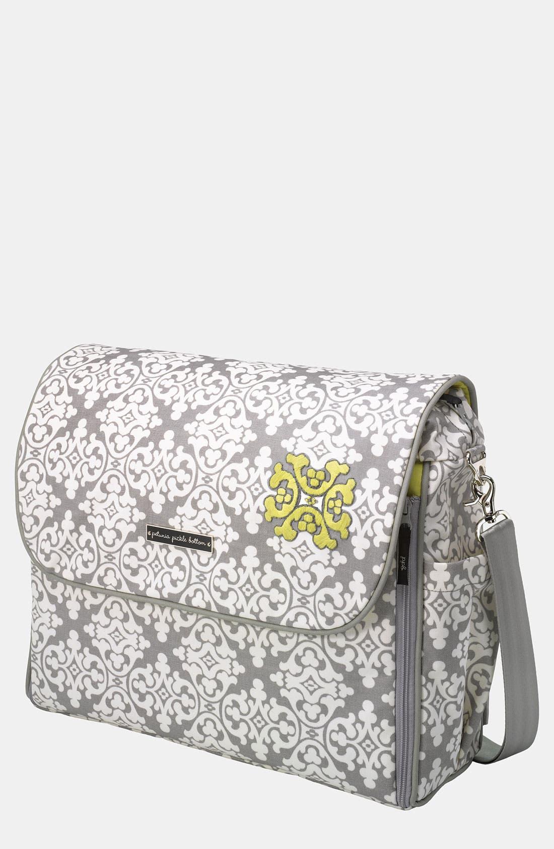 Alternate Image 1 Selected - Petunia Pickle Bottom 'Abundance Boxy' Glazed Backpack Diaper Bag