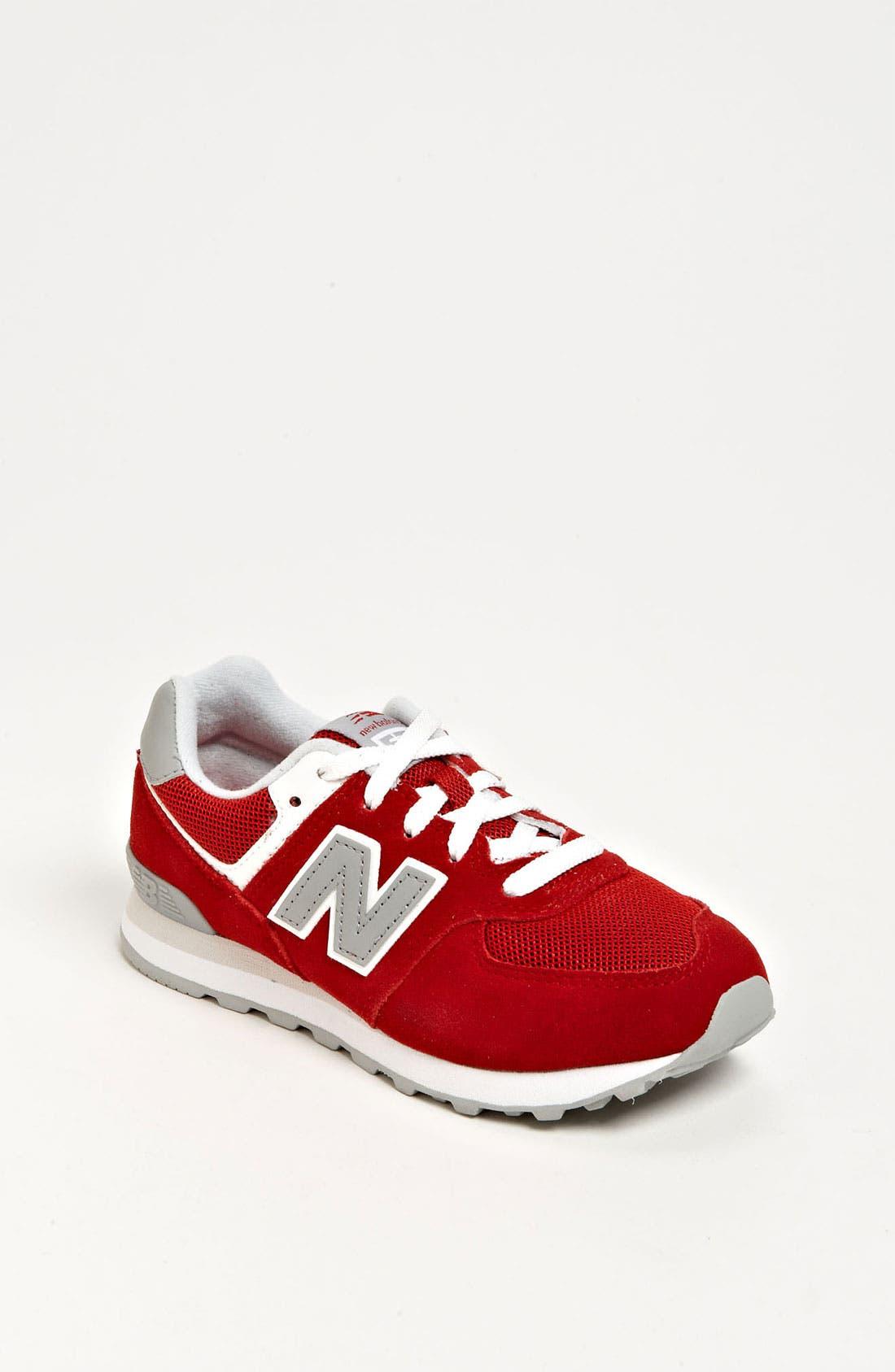 Alternate Image 1 Selected - New Balance 'ML574' Running Shoe (Toddler, Little Kid & Big Kid)