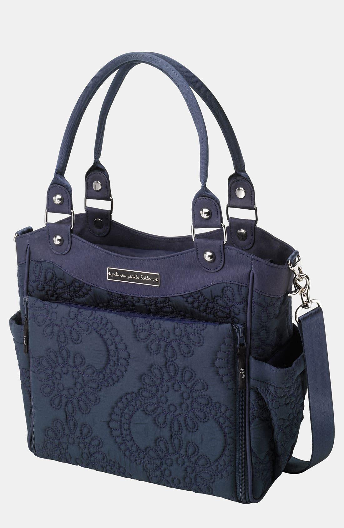 Alternate Image 1 Selected - Petunia Pickle Bottom 'City Carryall' Diaper Bag