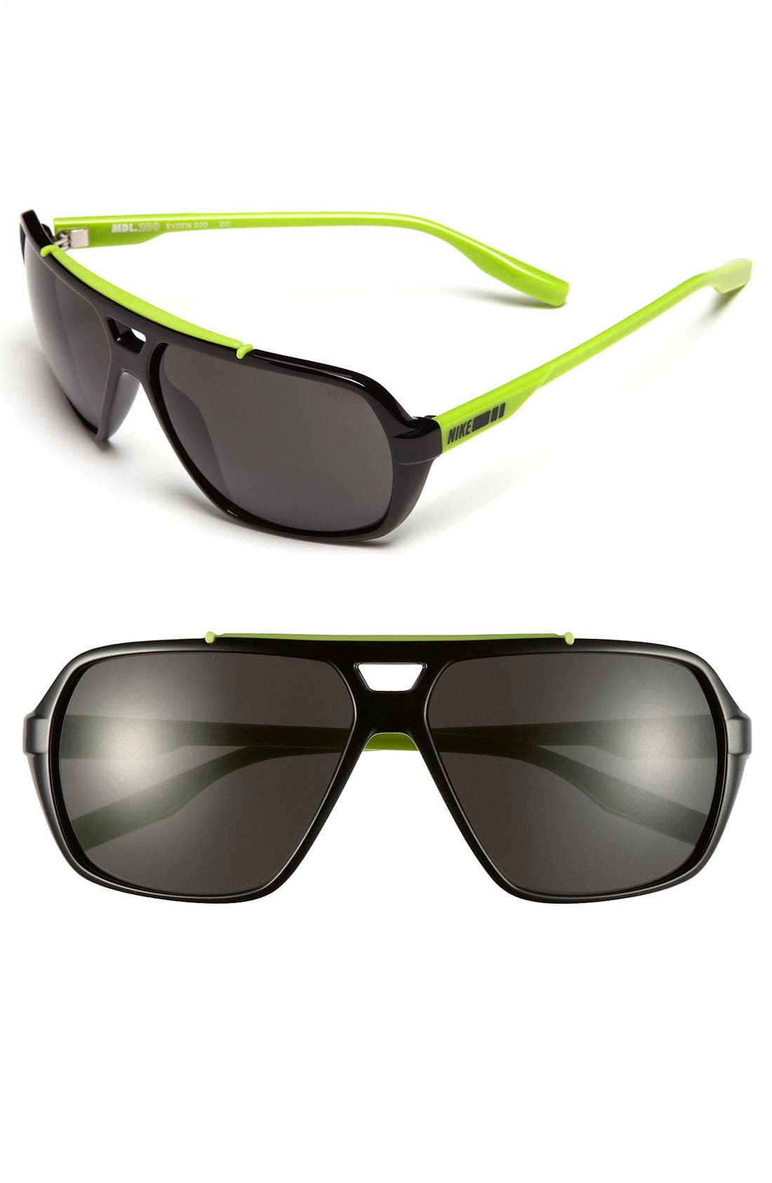 Main Image - Nike 61mm Aviator Sunglasses