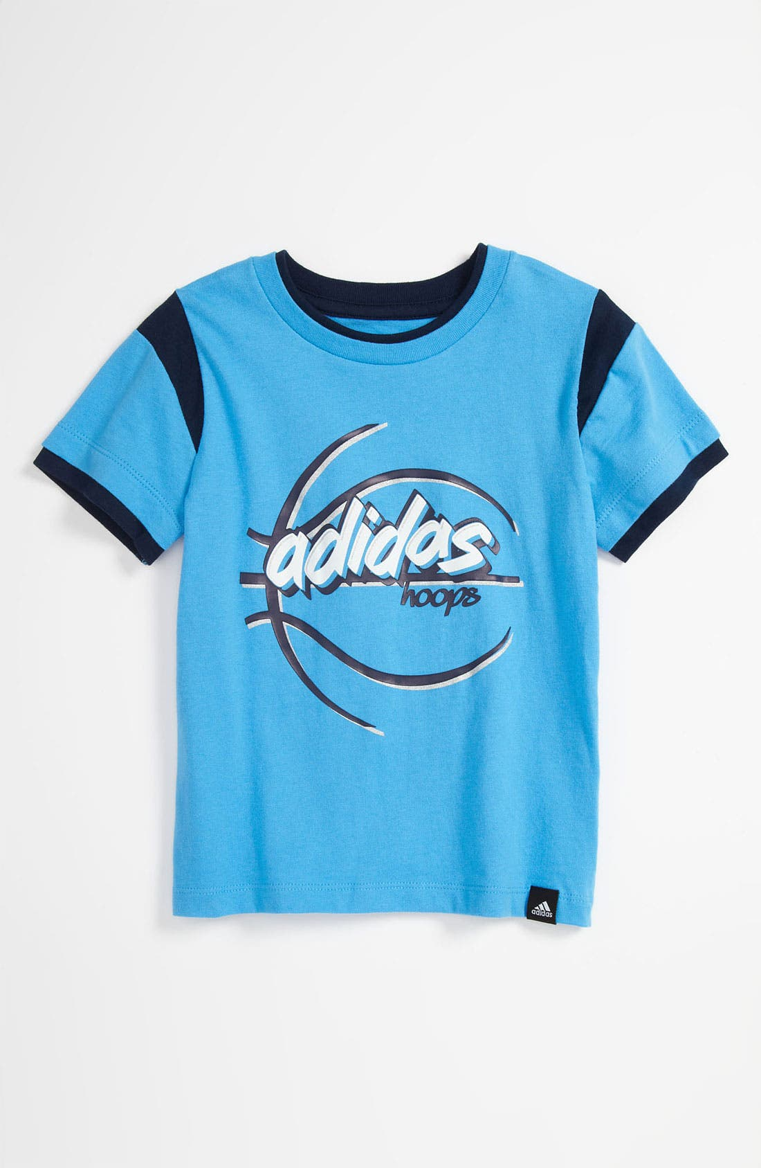 Alternate Image 1 Selected - adidas 'Can't Lose' T-Shirt (Toddler)