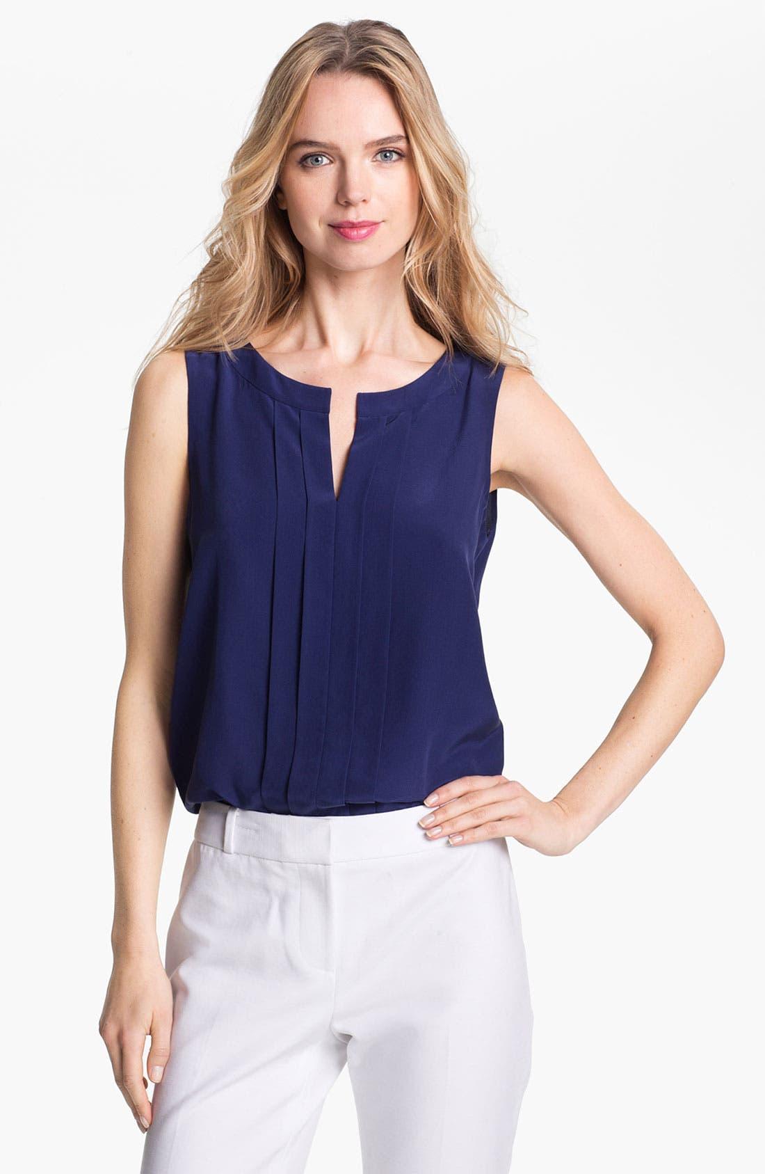 Alternate Image 1 Selected - kate spade new york 'addie' silk blouse