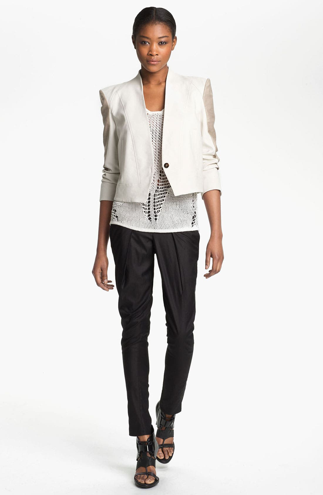 Alternate Image 1 Selected - Helmut Lang 'Era' Crop Jacket