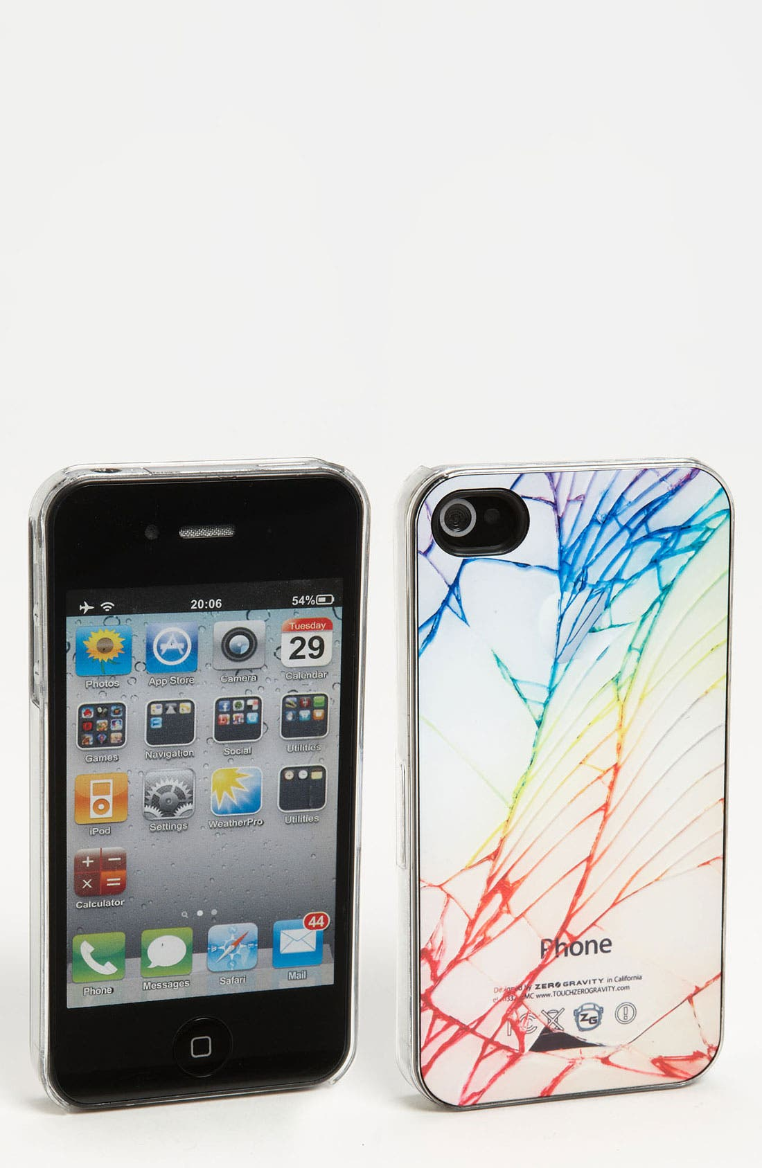 Alternate Image 1 Selected - ZERO GRAVITY 'Cracked' iPhone 4 & 4S Case