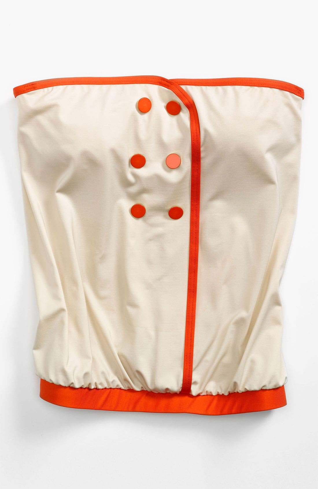 Alternate Image 5  - MARC BY MARC JACOBS Buttoned Blouson Tankini Top