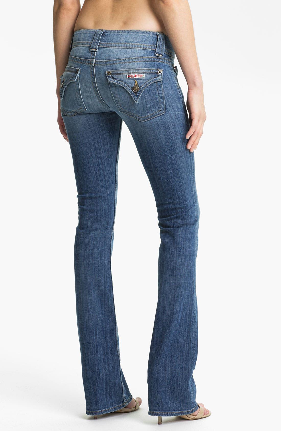 Alternate Image 2  - Hudson Jeans Signature Flap Pocket Bootcut Jeans (Milo)
