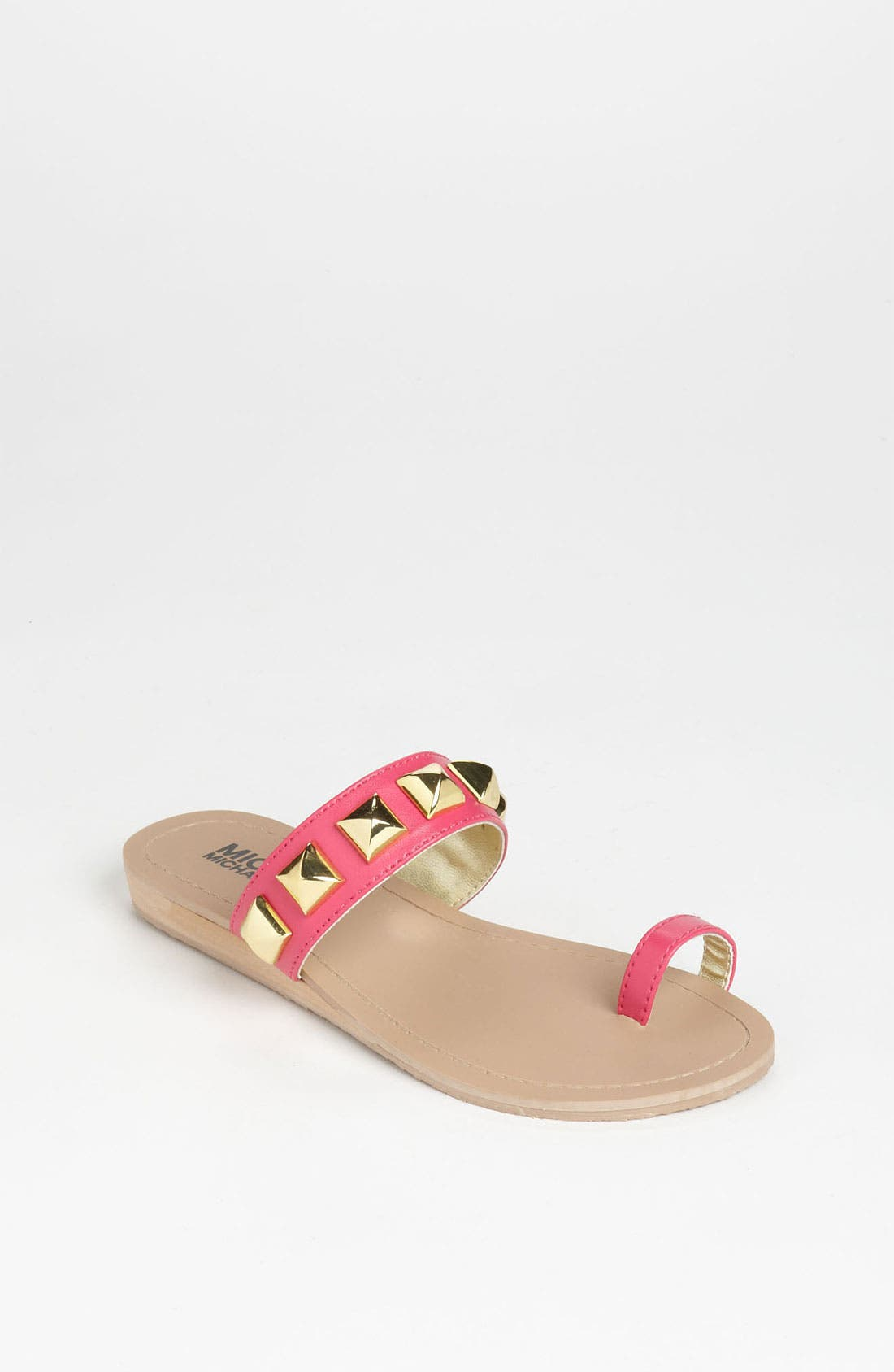 Main Image - MICHAEL Michael Kors 'Zen' Sandal (Little Kid & Big Kid)