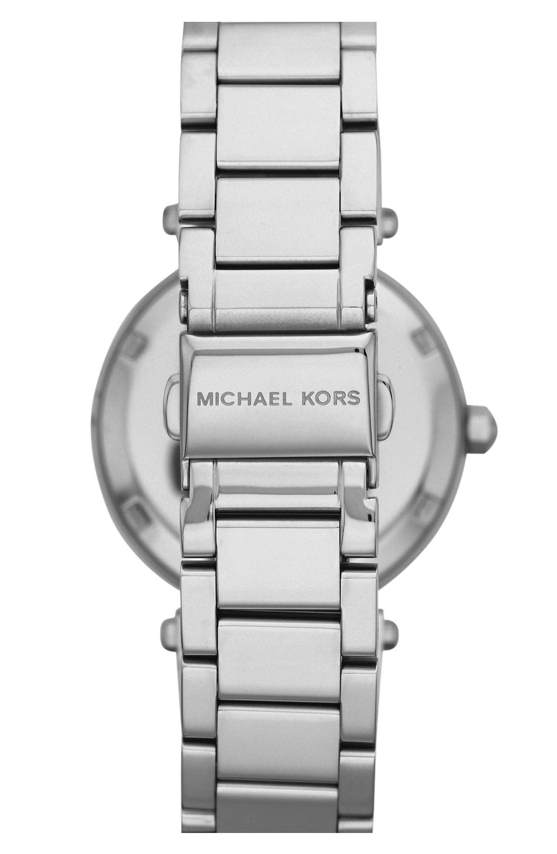 Alternate Image 3  - Michael Kors 'Parker - Mini' Multifunction Watch, 33mm