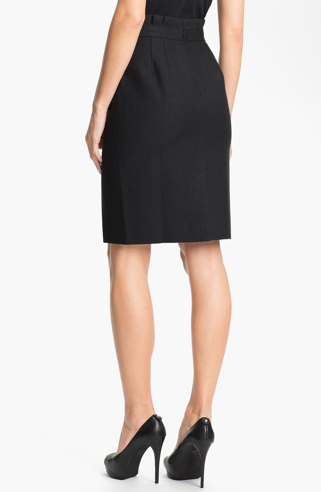 Alternate Image 2  - Classiques Entier 'Bella' Textured Skirt