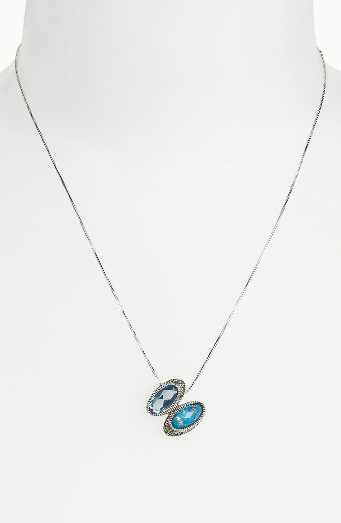 Alternate Image 1 Selected - Judith Jack Pendant Necklace