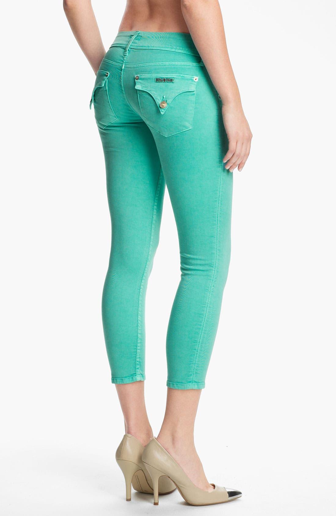 Alternate Image 2  - Hudson Jeans 'Collin' Crop Skinny Jeans (Supernova)