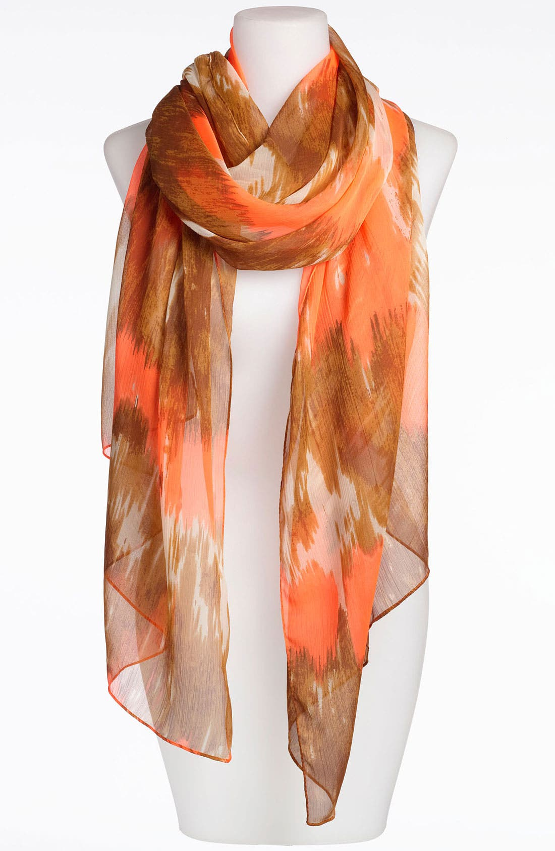 Alternate Image 1 Selected - Made of Me Accessories Tie Dye Stripe Scarf