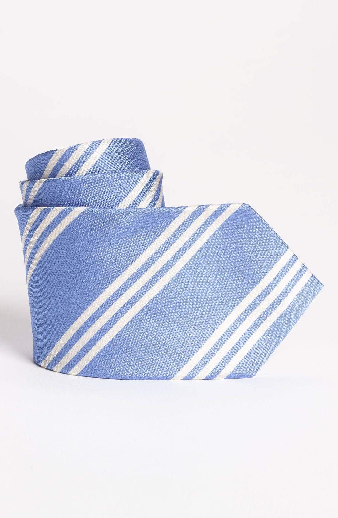 Main Image - Brooks Brothers Woven Silk Tie (Big Boys)