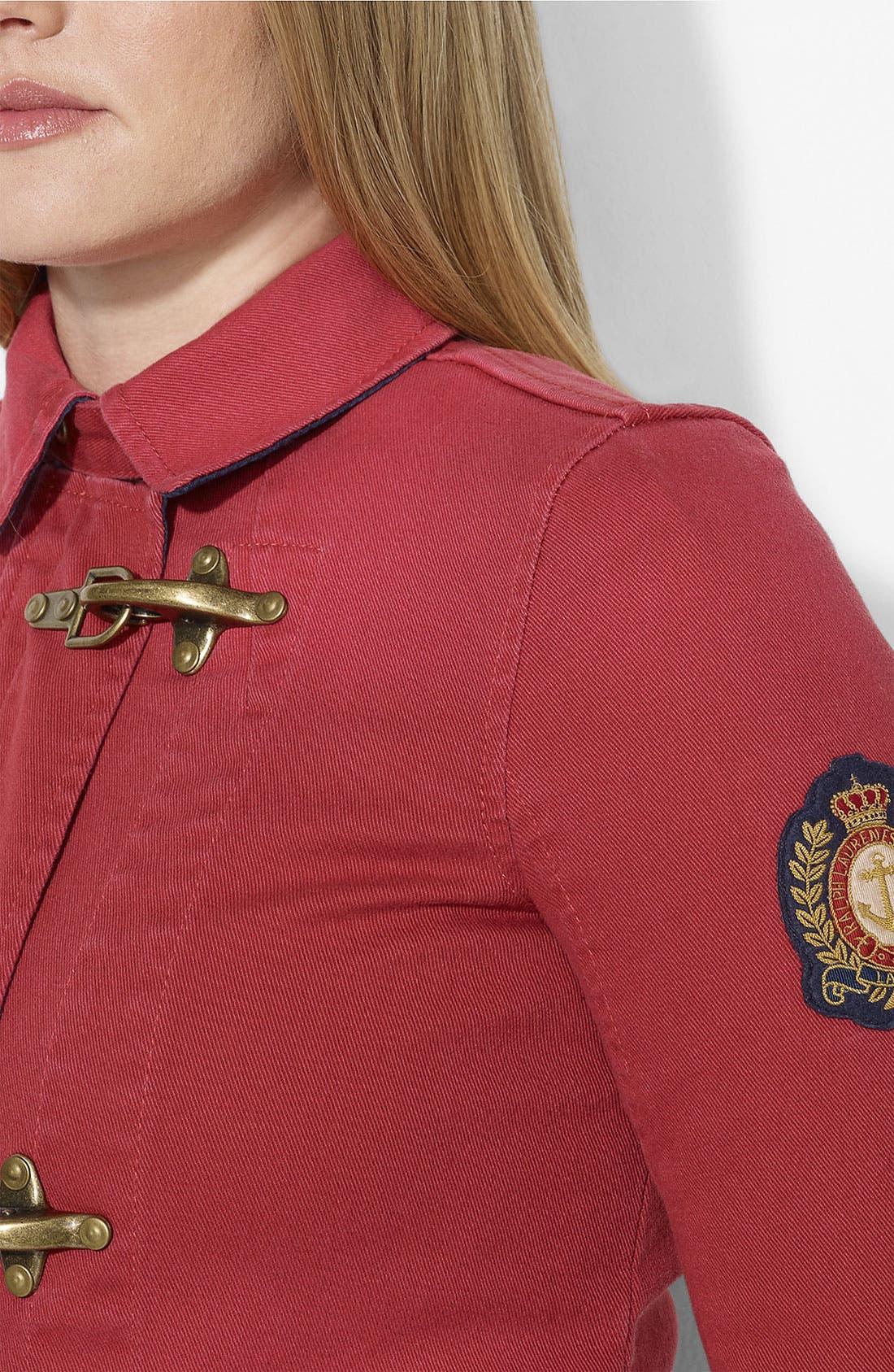 Alternate Image 3  - Lauren Ralph Lauren Denim Jacket (Plus)