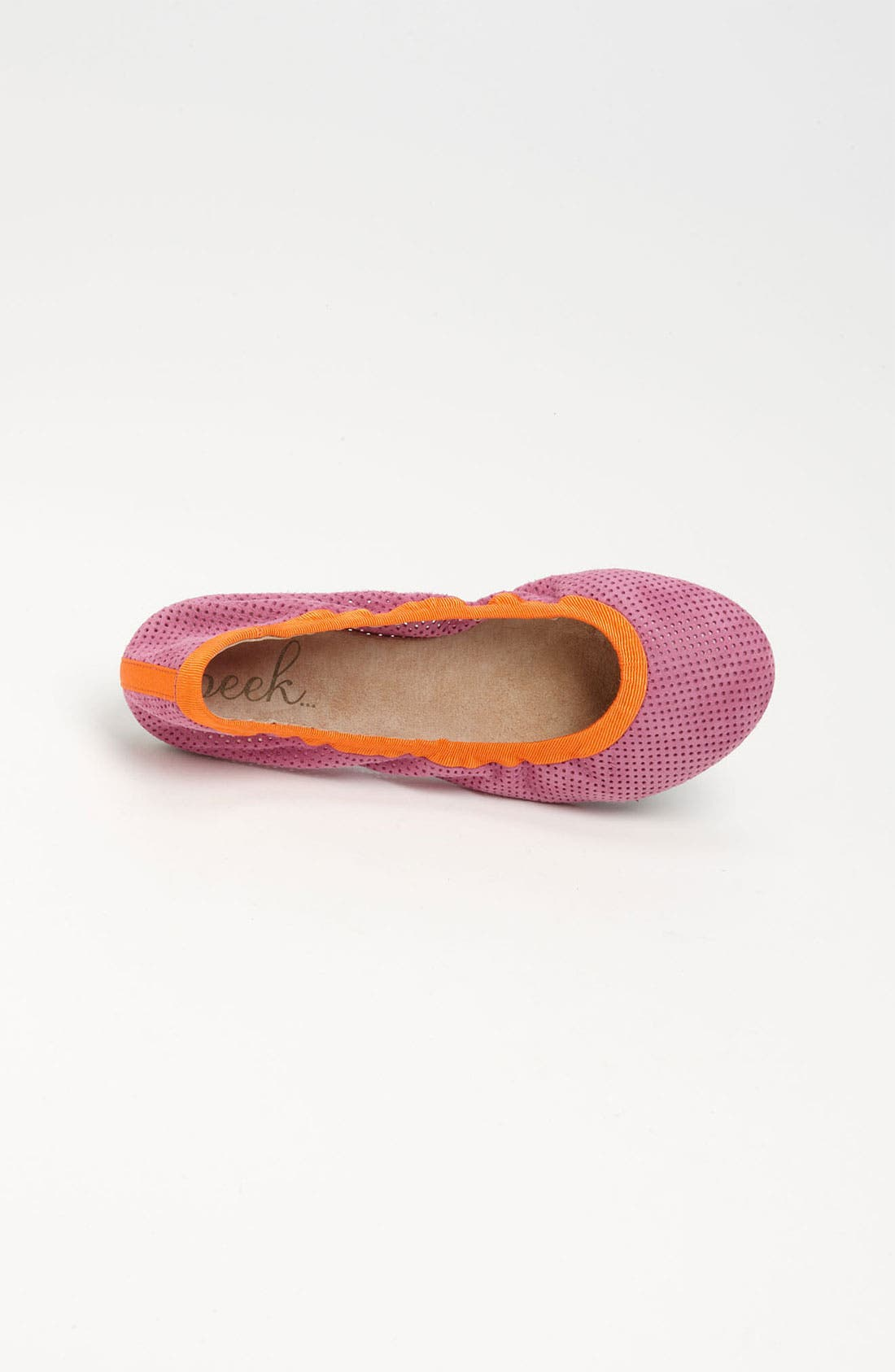 Alternate Image 3  - Peek 'Peony' Flat (Toddler, Little Kid & Big Kid)
