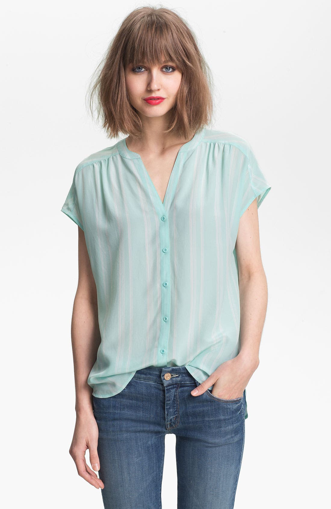 Alternate Image 1 Selected - Hinge® Silk Blouse