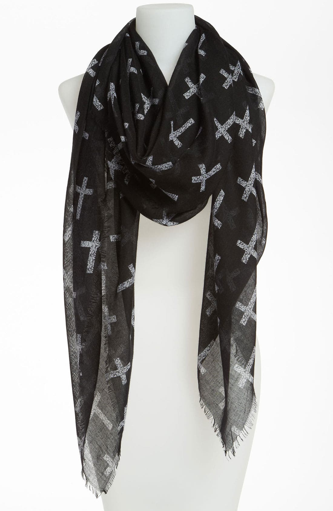 Main Image - BP. 'Allover Cross' Scarf