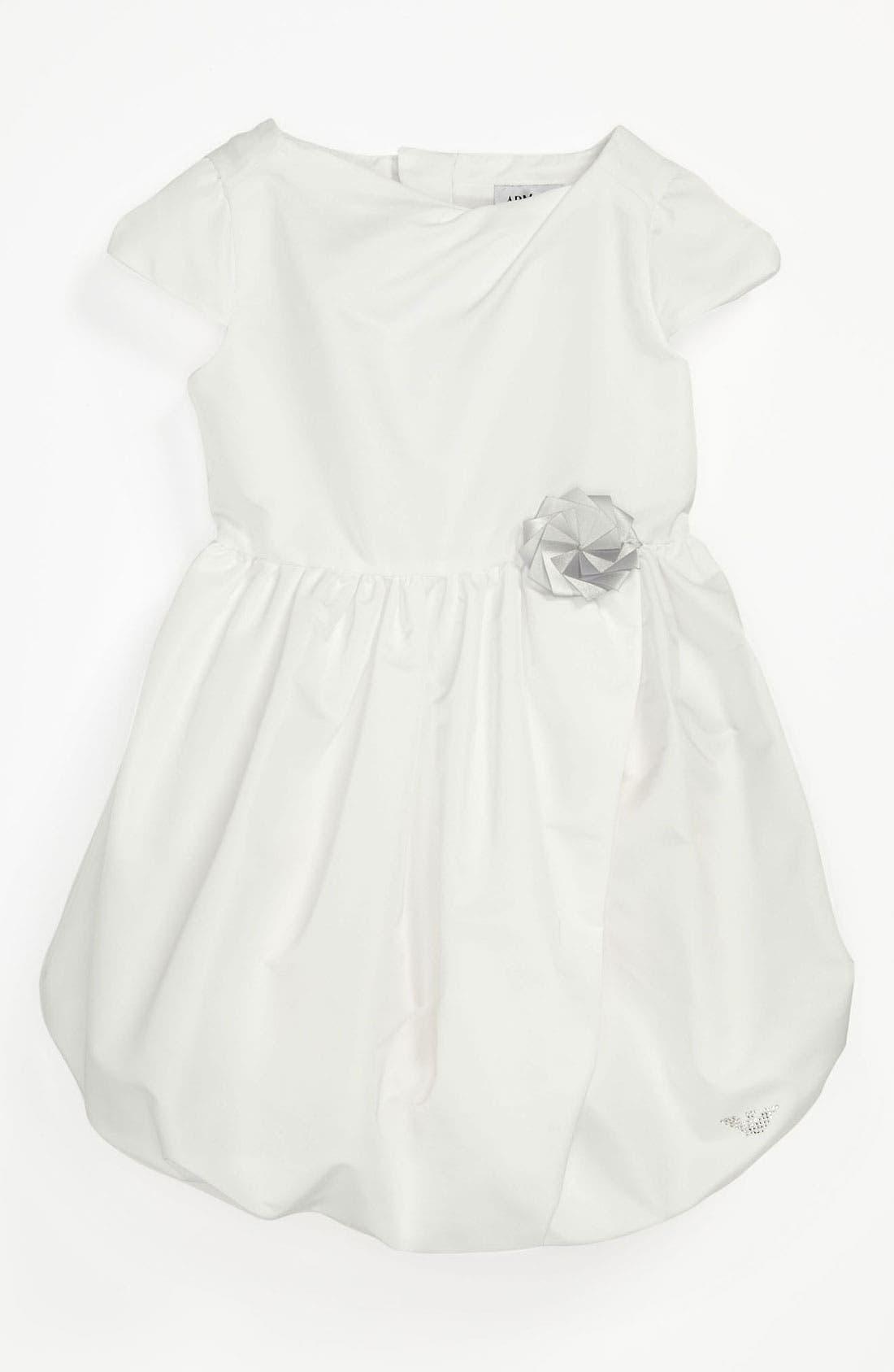 Alternate Image 1 Selected - Armani Junior Dress (Toddler Girls)