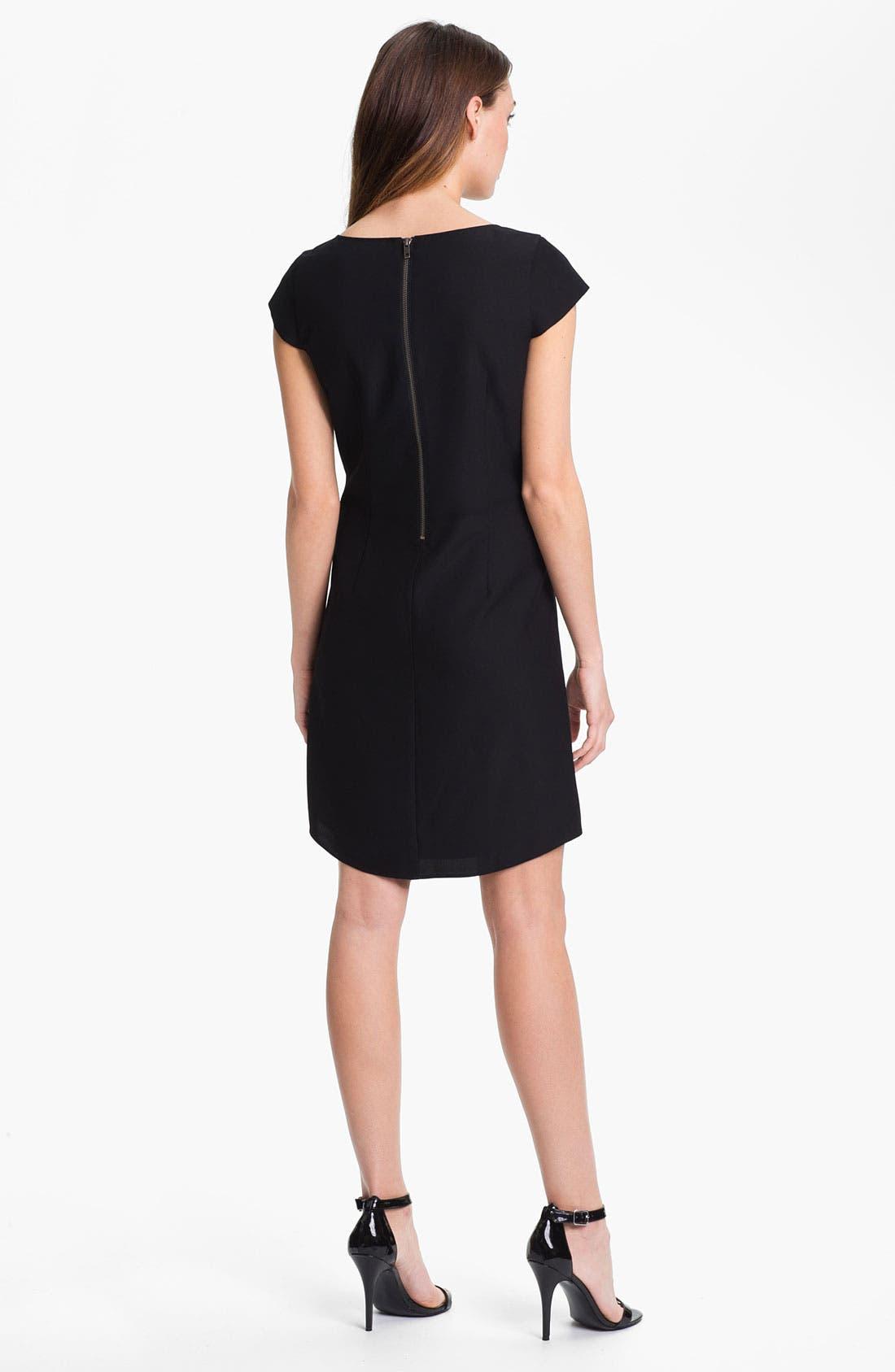 Alternate Image 2  - Halogen Placed Print Shift Dress