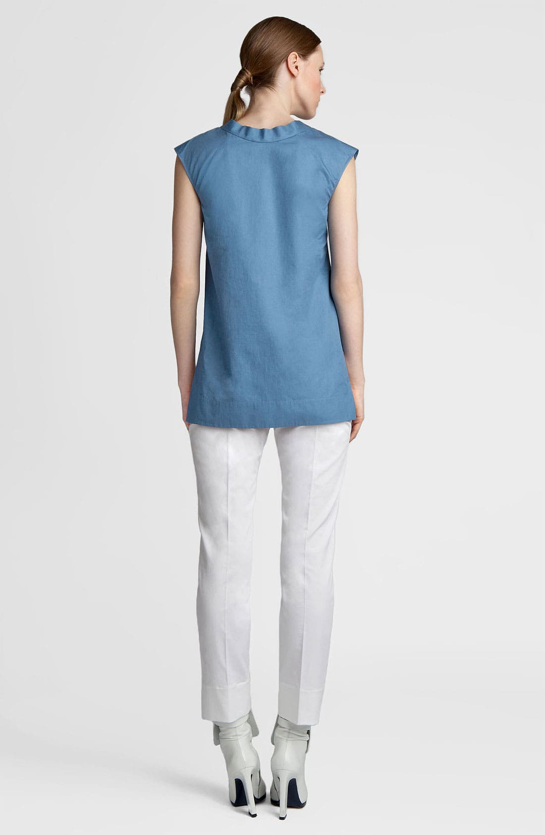 Alternate Image 4  - Jil Sander Washed Cotton Tunic