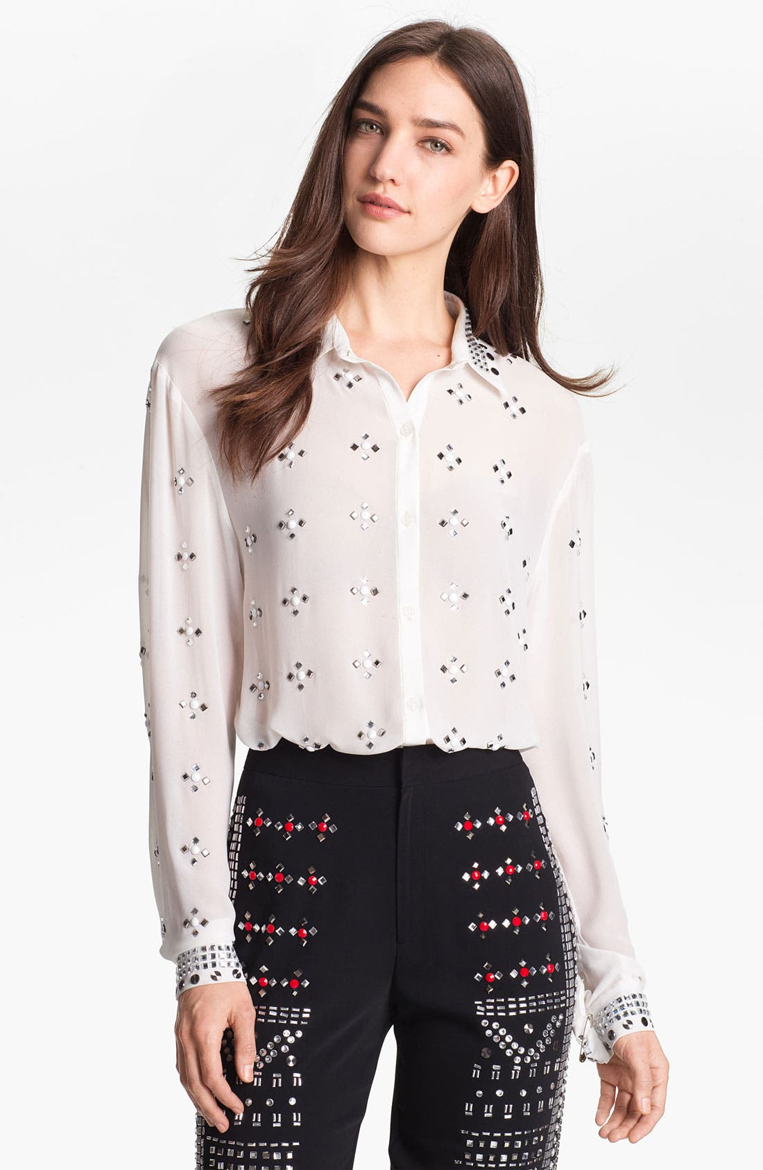 Alternate Image 1 Selected - Clover Canyon Embellished Top
