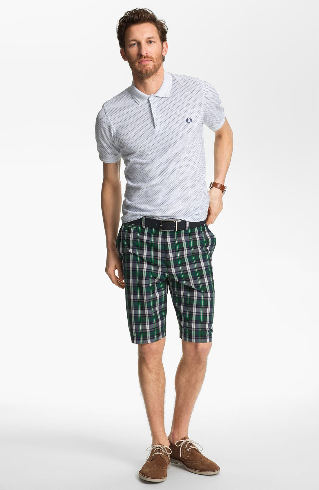 Alternate Image 4  - Fred Perry Slim Fit Polo