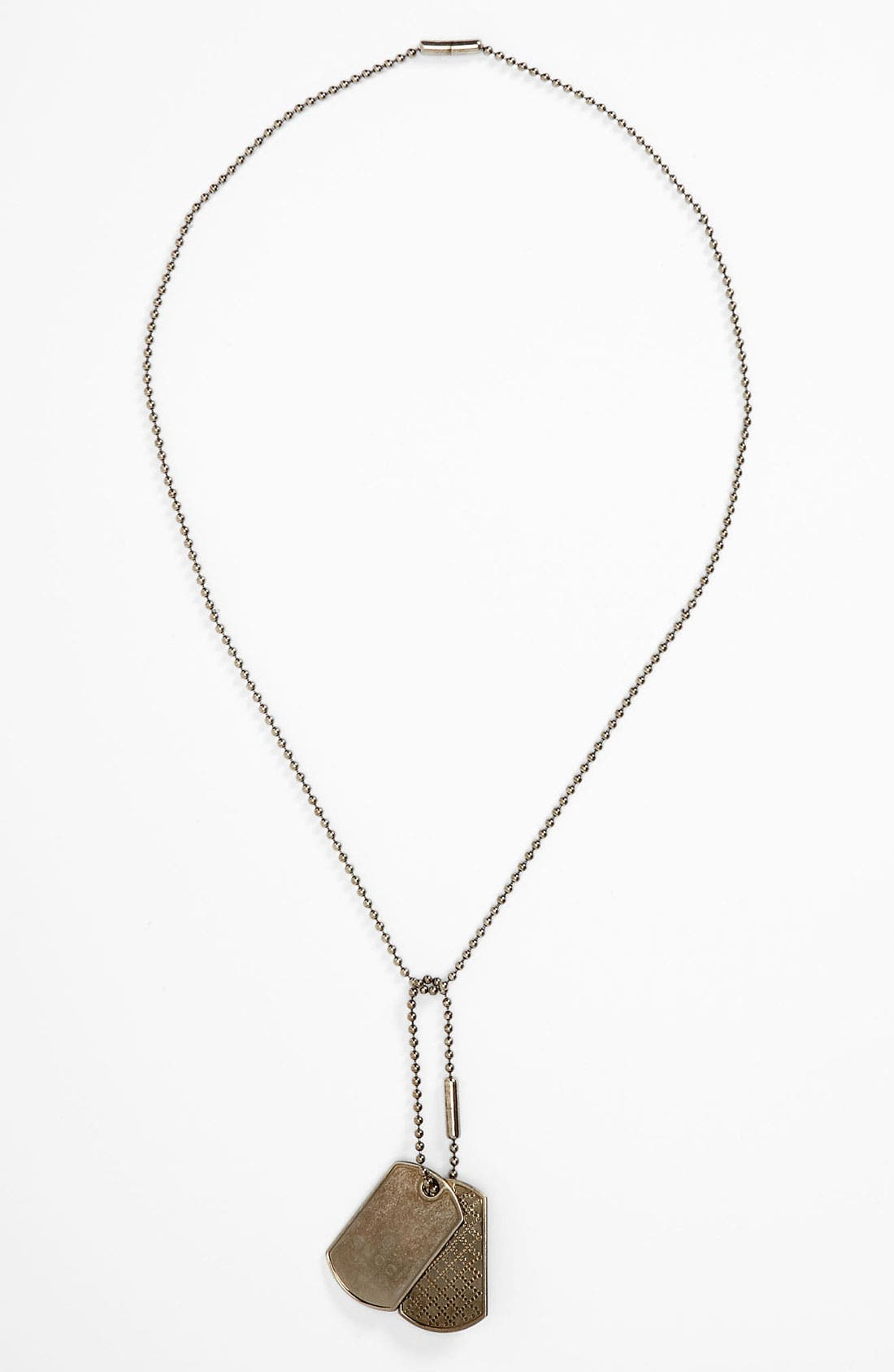 Main Image - Gucci Dog Tag Necklace