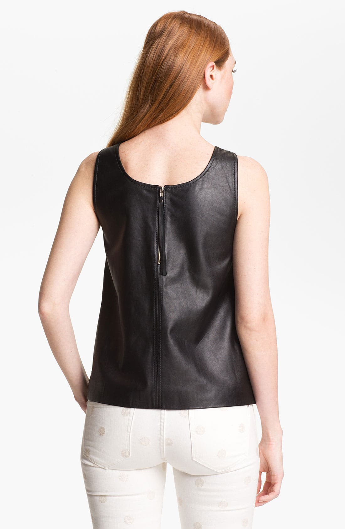 Alternate Image 2  - MARC BY MARC JACOBS 'Jett' Leather Top