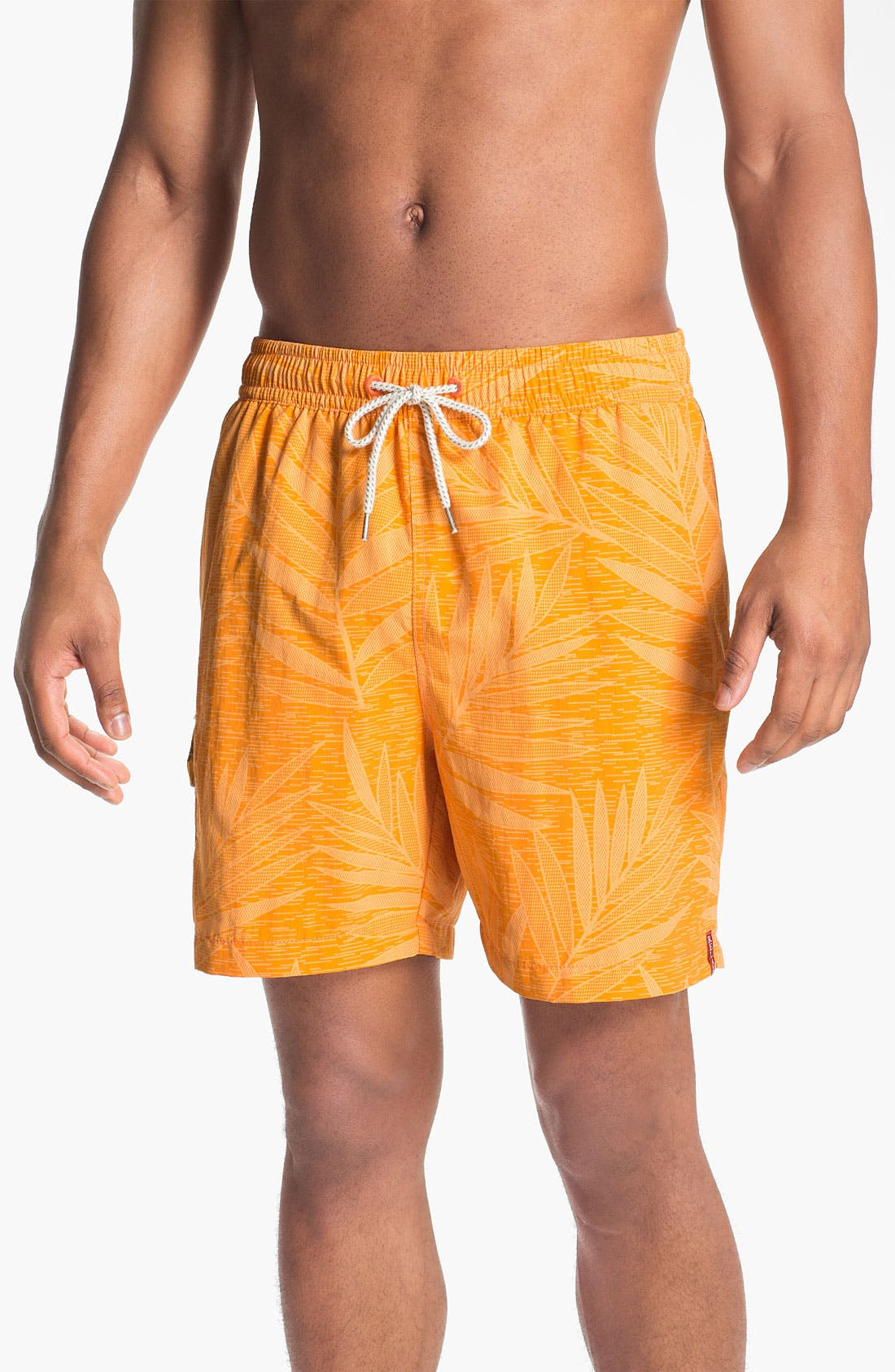 Main Image - Tommy Bahama 'Leaf Overboard' Swim Trunks