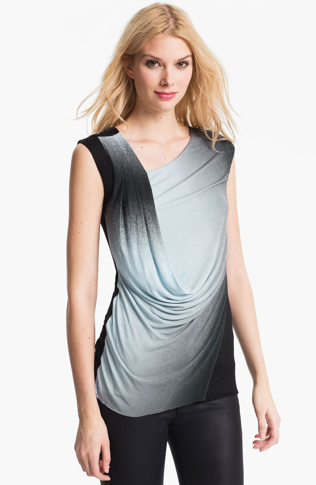 Alternate Image 1 Selected - Bailey 44 'King Tut' Draped Ombré Top