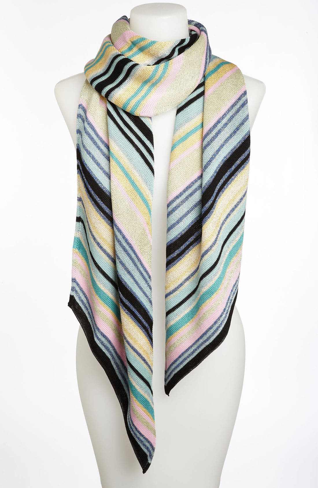 Alternate Image 1 Selected - Missoni Diagonal Stripe Scarf