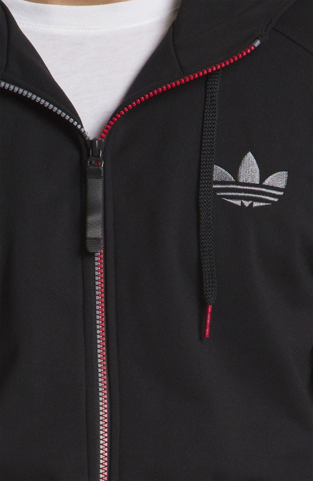 Alternate Image 3  - adidas 'C90' Zip Hoodie