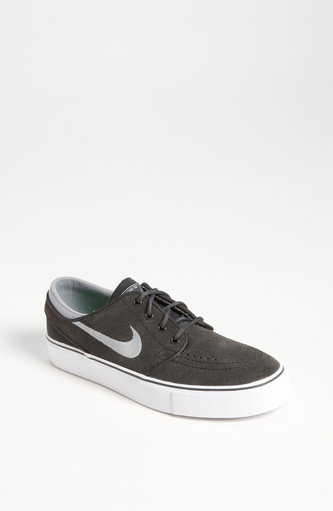 'Stefan Janoski' Sneaker,                             Main thumbnail 1, color,                             Anthracite/ Grey