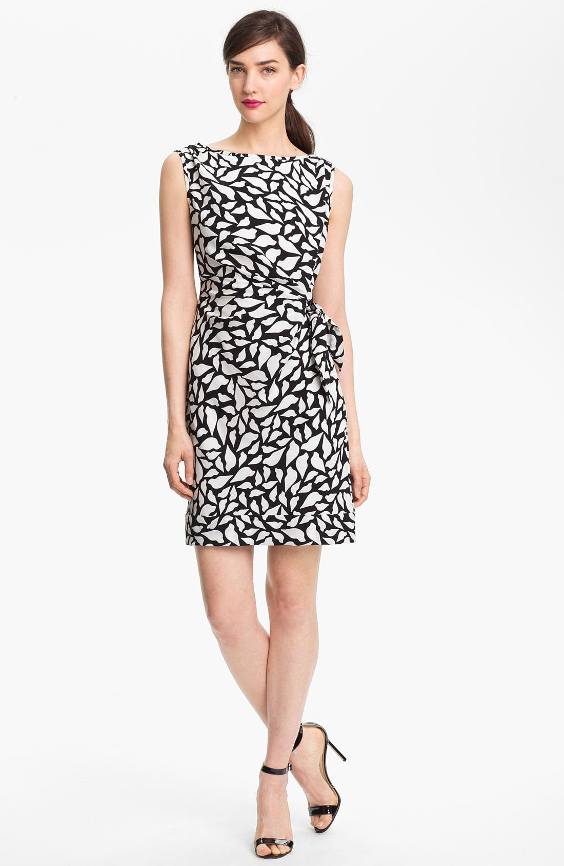 Alternate Image 1 Selected - Diane von Furstenberg 'New Della' Stretch Silk Sheath Dress