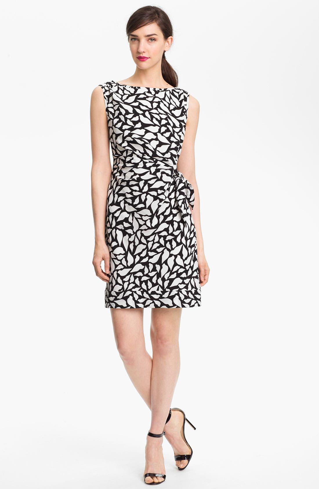 Main Image - Diane von Furstenberg 'New Della' Stretch Silk Sheath Dress