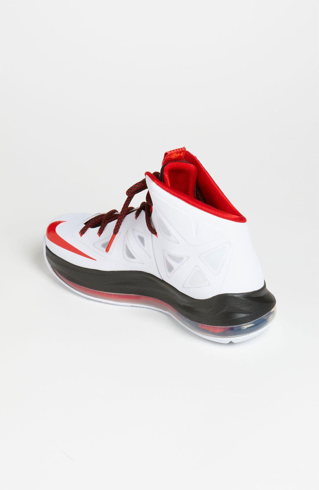 Alternate Image 2  - Nike 'LeBron 10 Pressure' Basketball Shoe (Big Kid)
