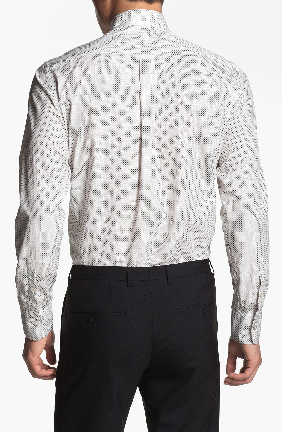 Alternate Image 2  - Canali Regular Fit Sport Shirt