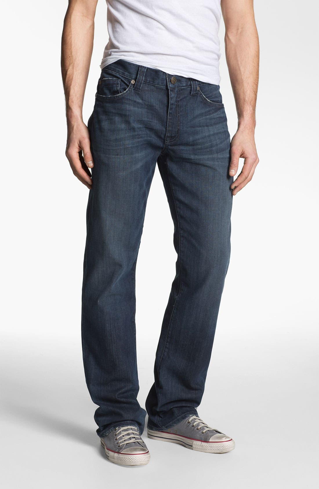 Alternate Image 1 Selected - Fidelity Denim '5011' Straight Leg Jeans (Town Valley Wash)