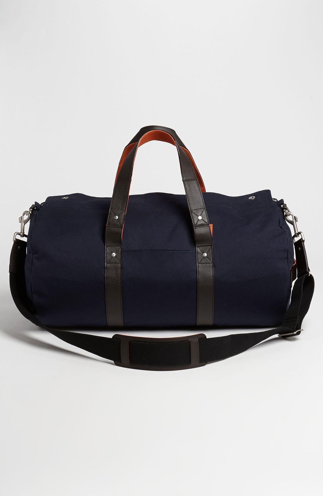 Alternate Image 1 Selected - Jack Spade 'Field' Canvas Duffel Bag