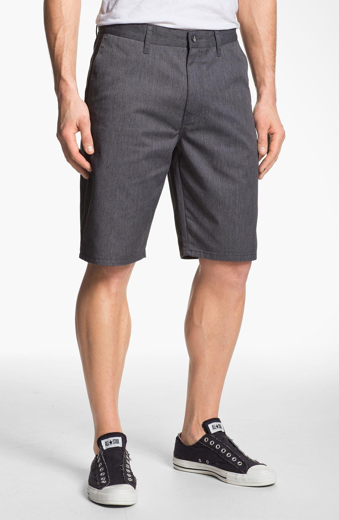Alternate Image 1 Selected - Volcom 'Modern' Chino Shorts