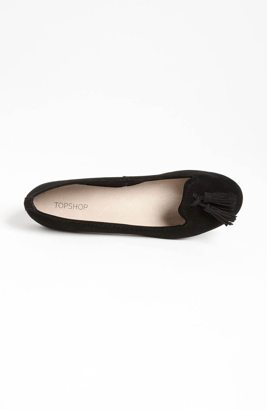 Alternate Image 3  - Topshop 'Mex' Velvet Slipper