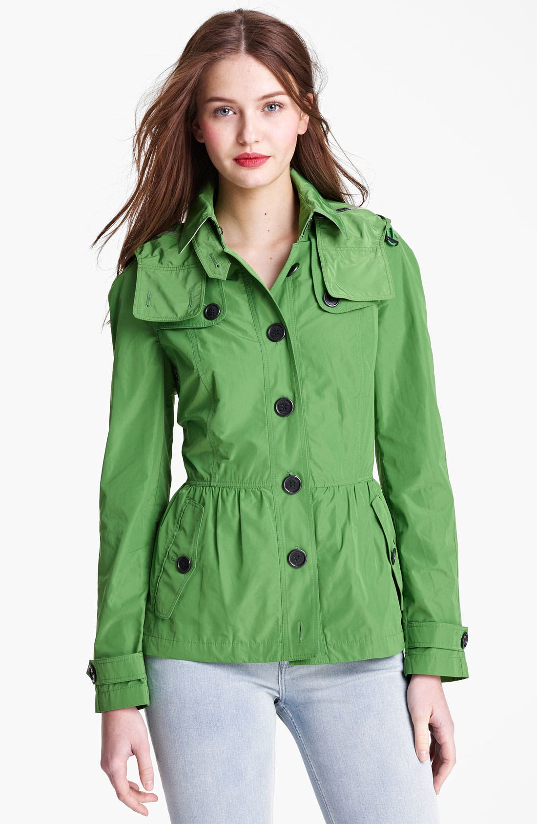 Main Image - Burberry Brit 'Fordleigh' Packable Coat