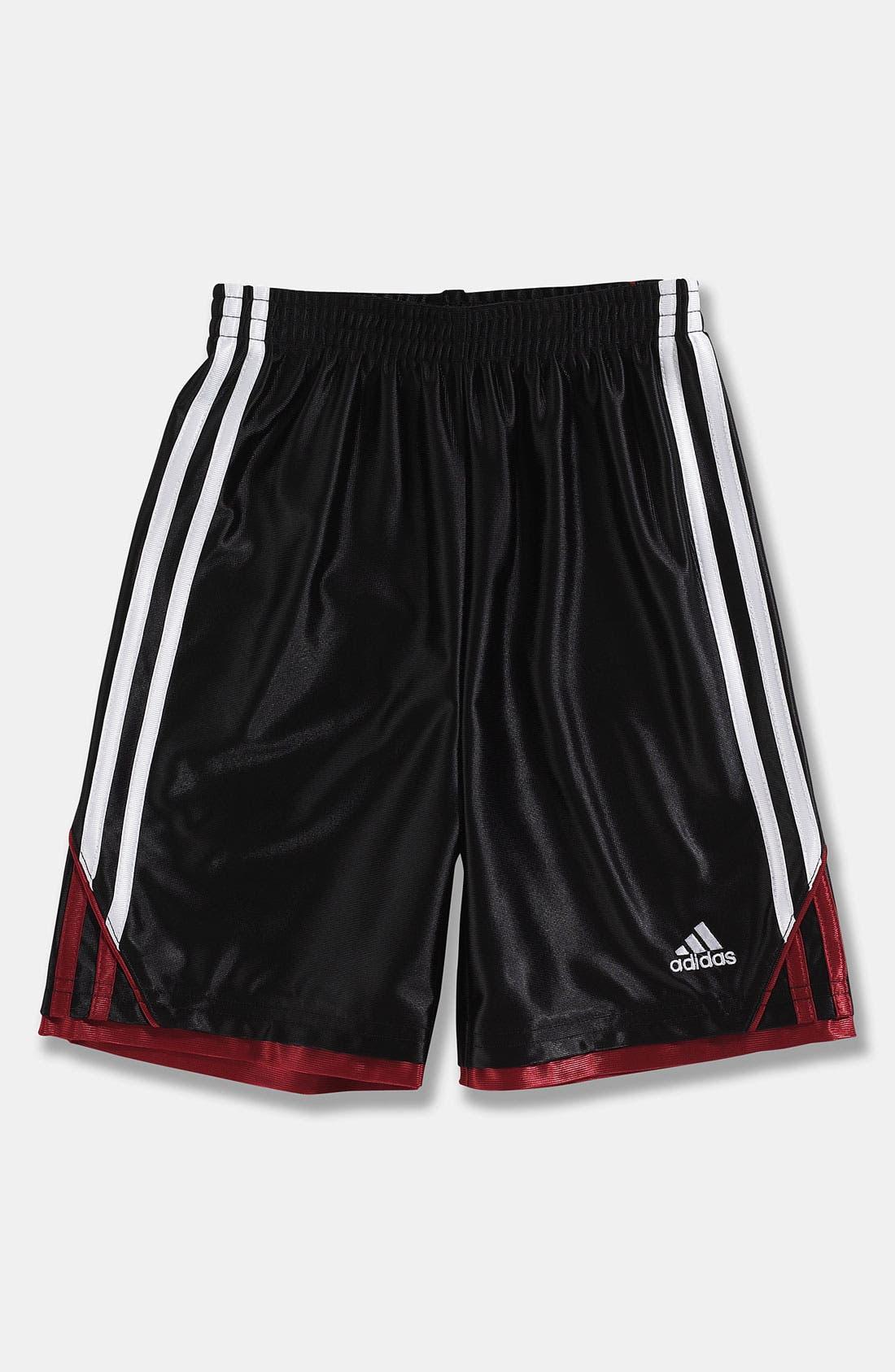 Main Image - adidas 'Prime Dazzle' Shorts (Little Boys)